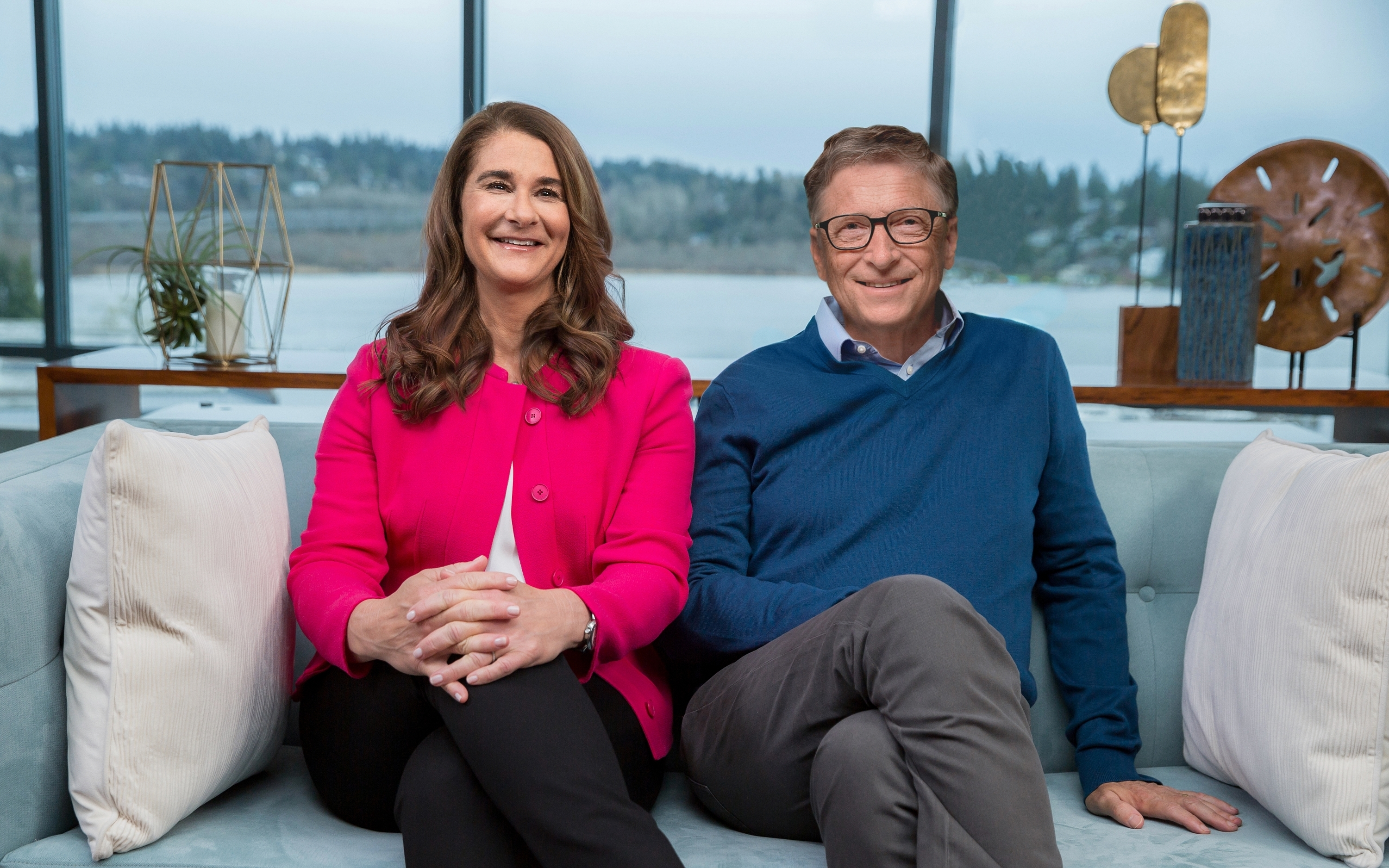 Bill and Melinda Gates' foundation is developing vaccines for Malaria, HIV and TB. Credit: PA