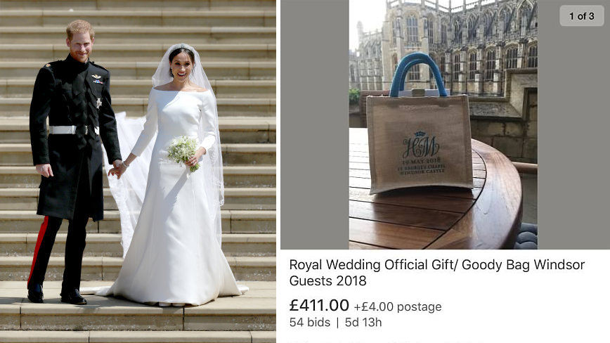 Cheeky Royal Wedding Guests Well Gift Bags Online For Up To £1,000