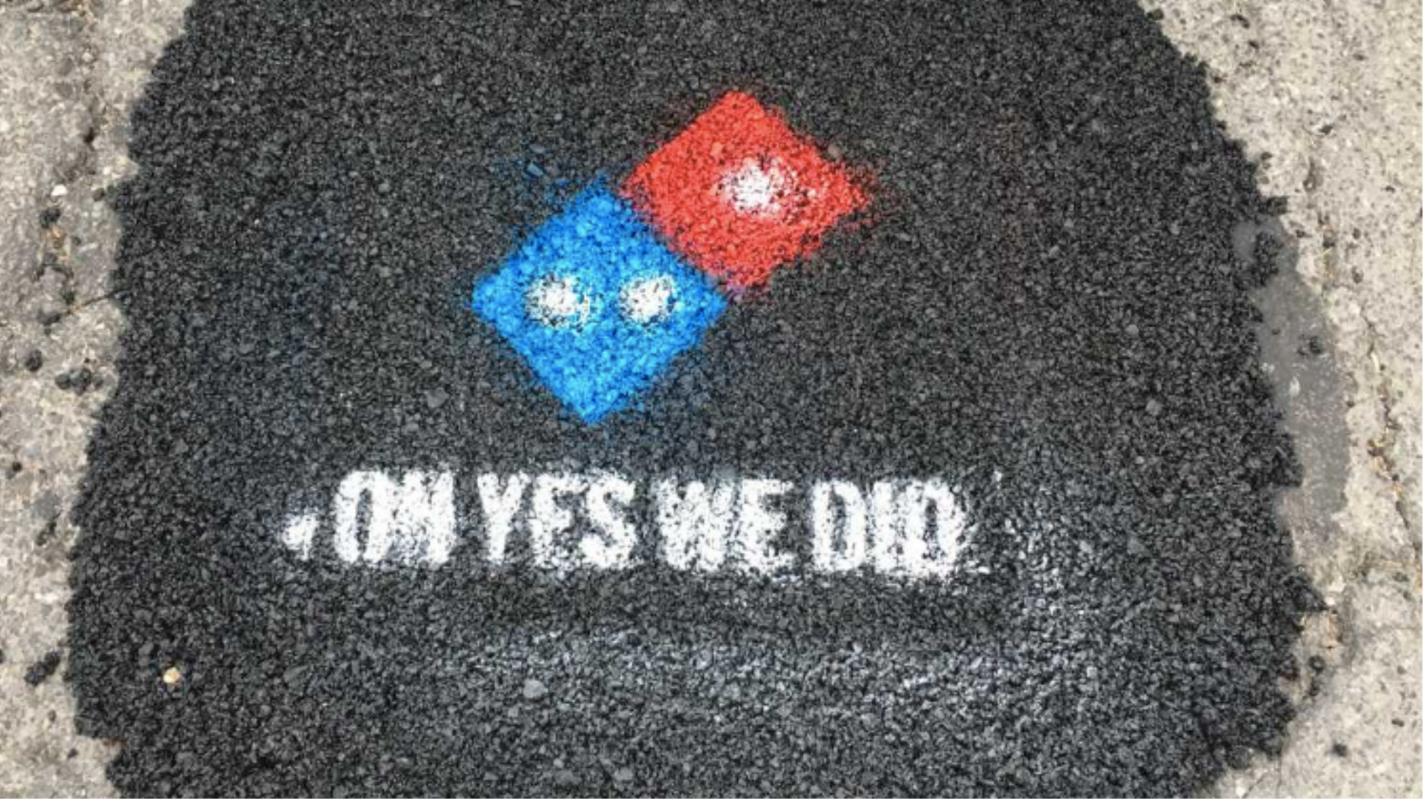 Domino's Pizza will pay to have potholes fixed in your hometown