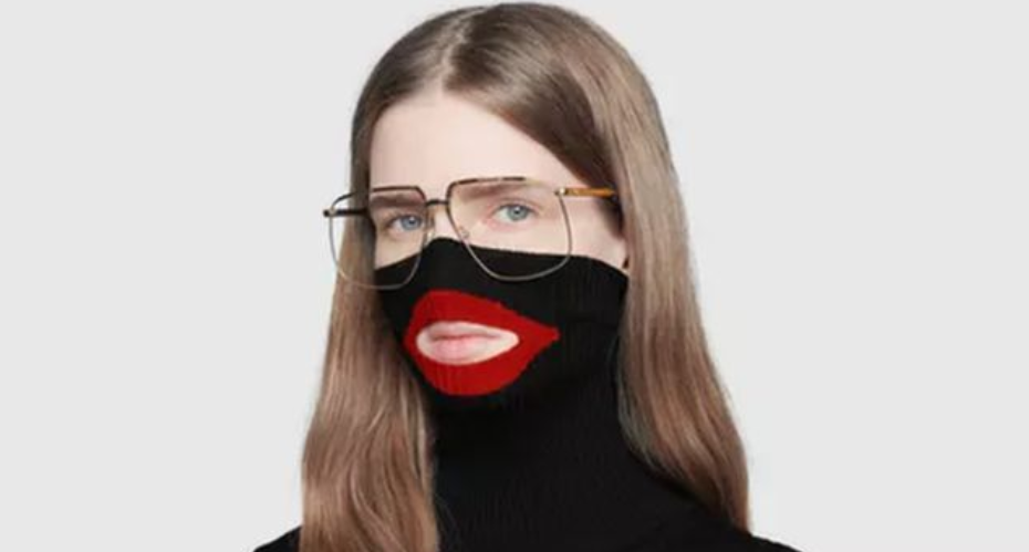 Gucci pulled a jumper from sale last week after it was compared to blackface. Credit: Gucci