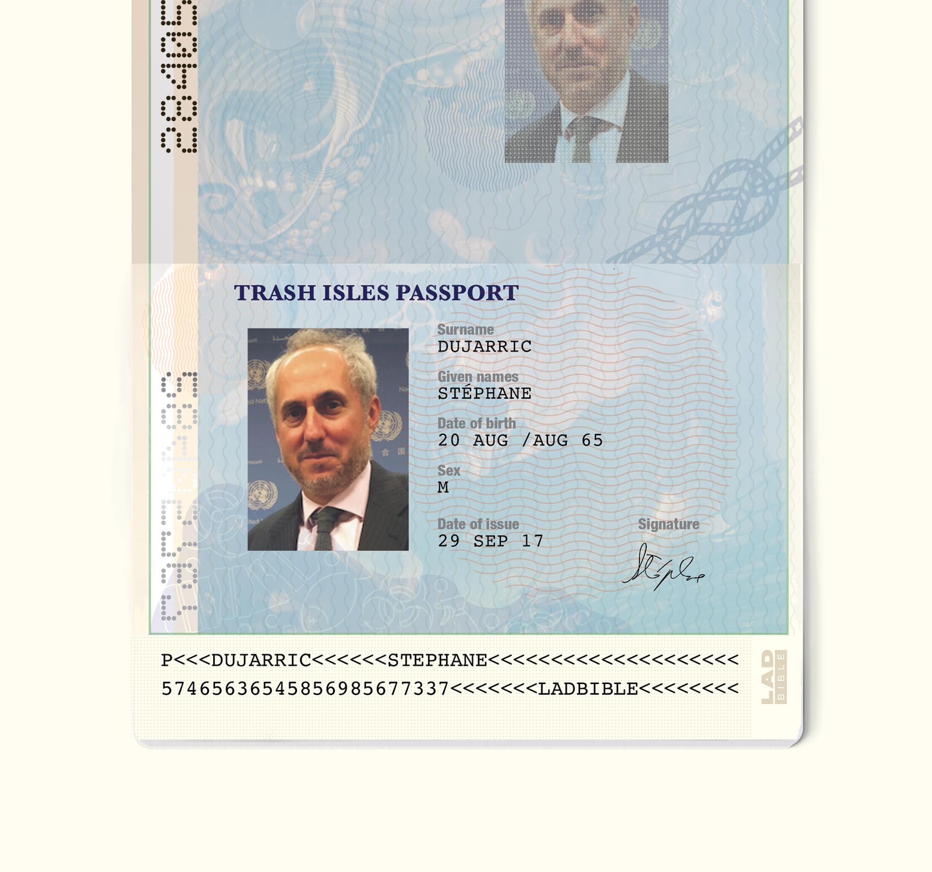 Trash Isles passport