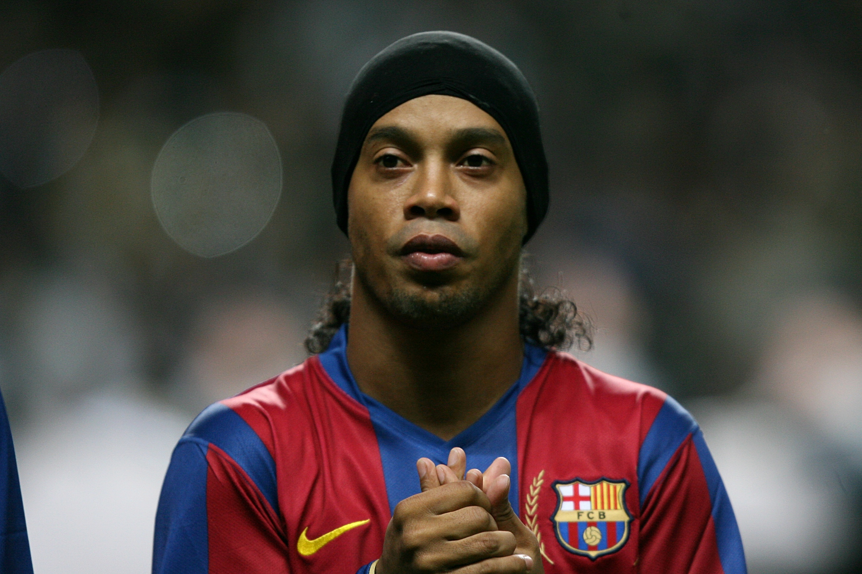 Ronaldinho Only Has €6 In His Bank Account