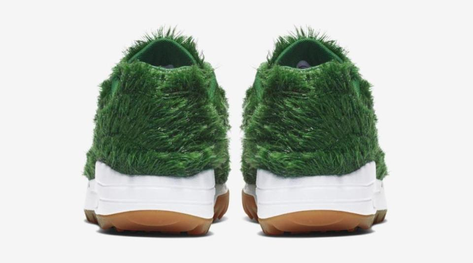 Astro turf trainers? Well, OK. Credit: Nike