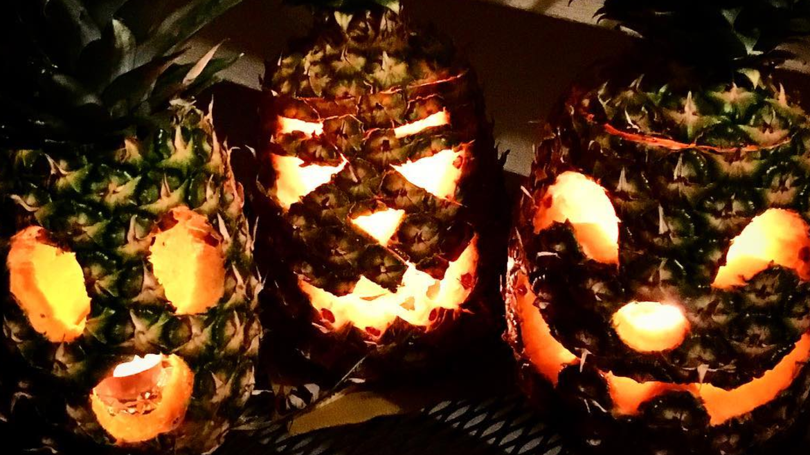 Some People Are Replacing Pumpkins With Pineapples This Halloween