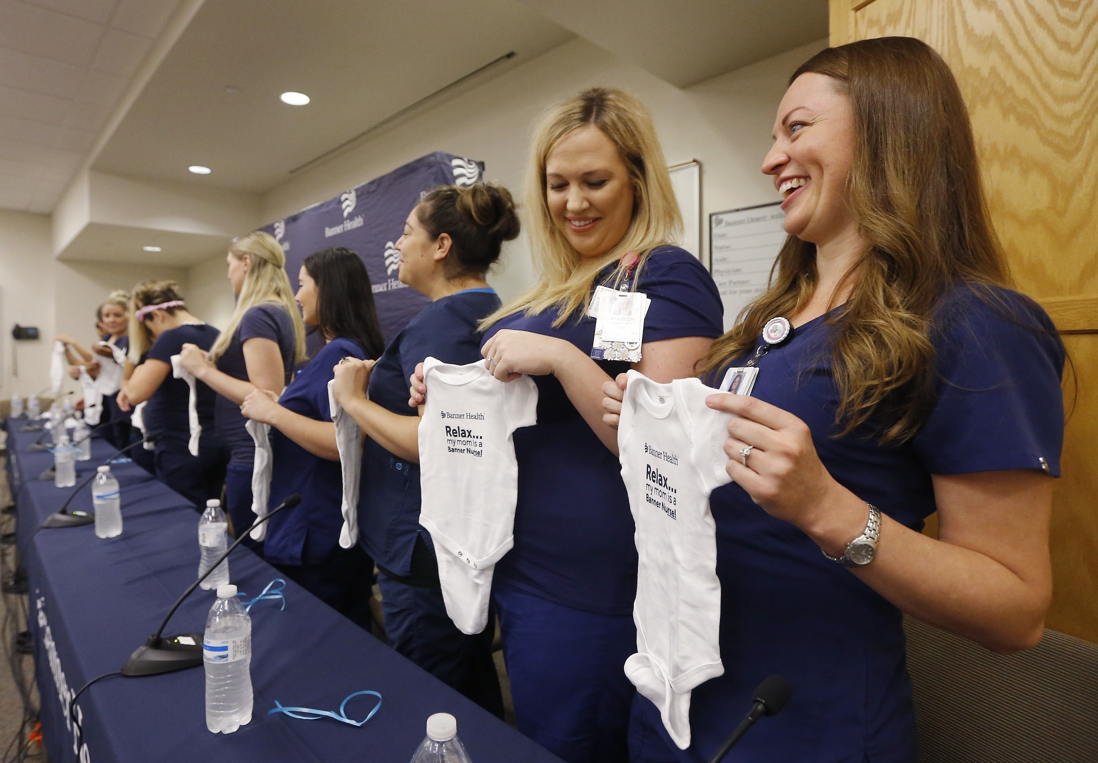 Nurses From One Arizona Hospital Are All Simultaneously Pregnant