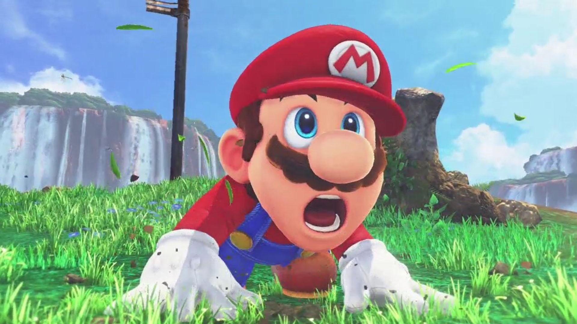 Even Mario was shocked