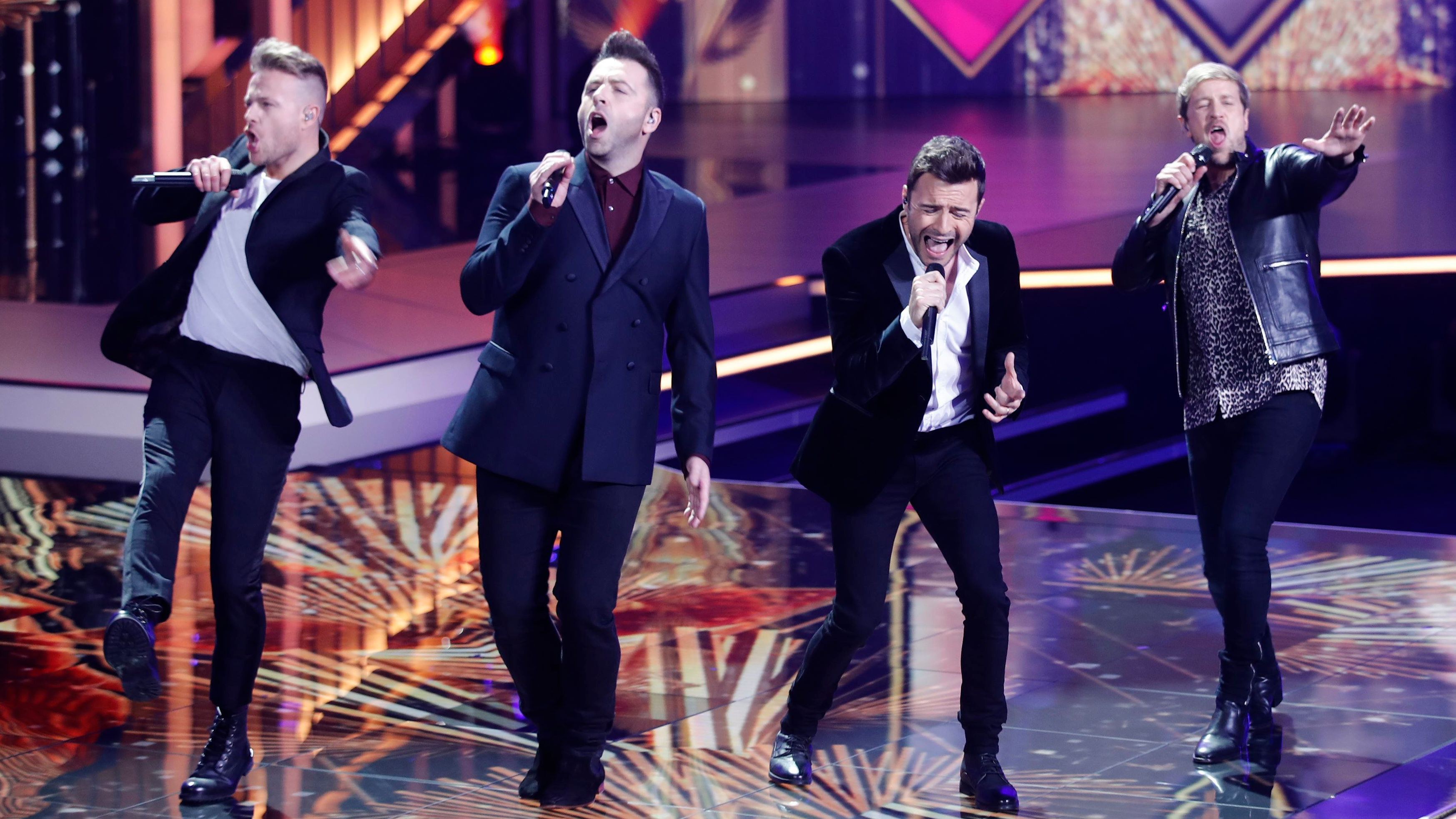 Westlife's Fans Were Forced To Stand Or Go Home After