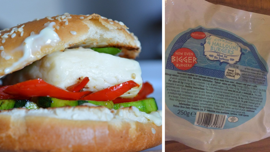 These Lidl Halloumi Burger Slices Are Only £1.99 And They Look Delicous