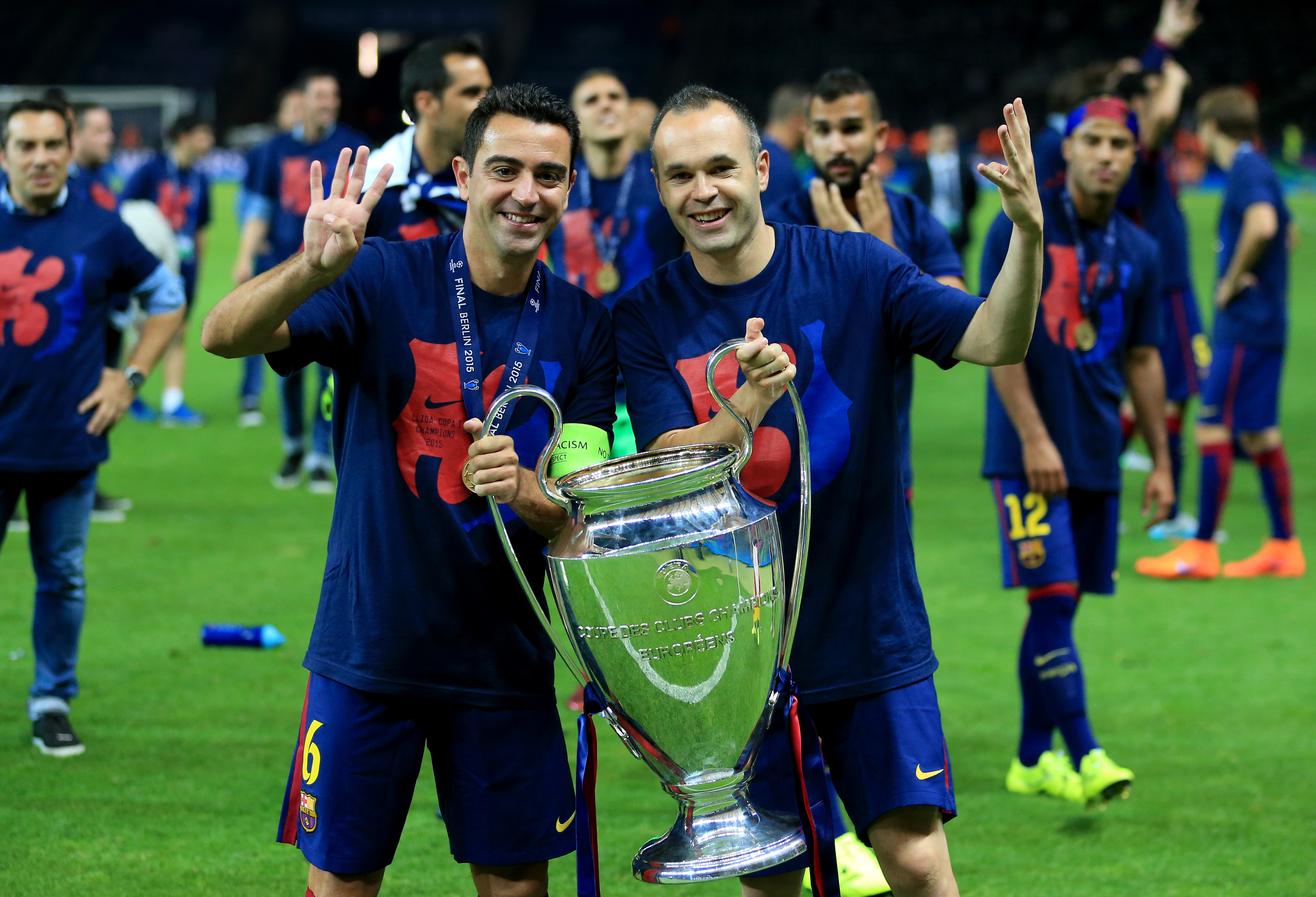 It's only right the Barca pair share the title with 29% each. Image: PA Images