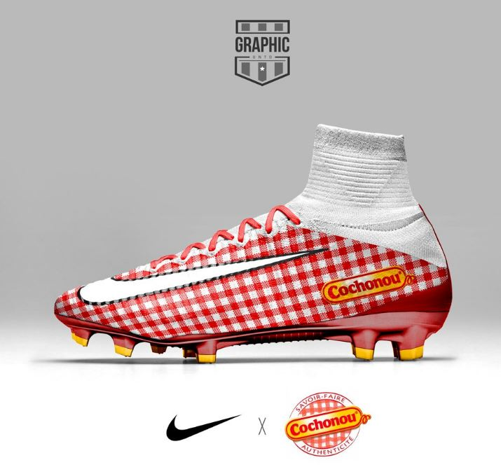 Concept Brand-Themed Football Boots