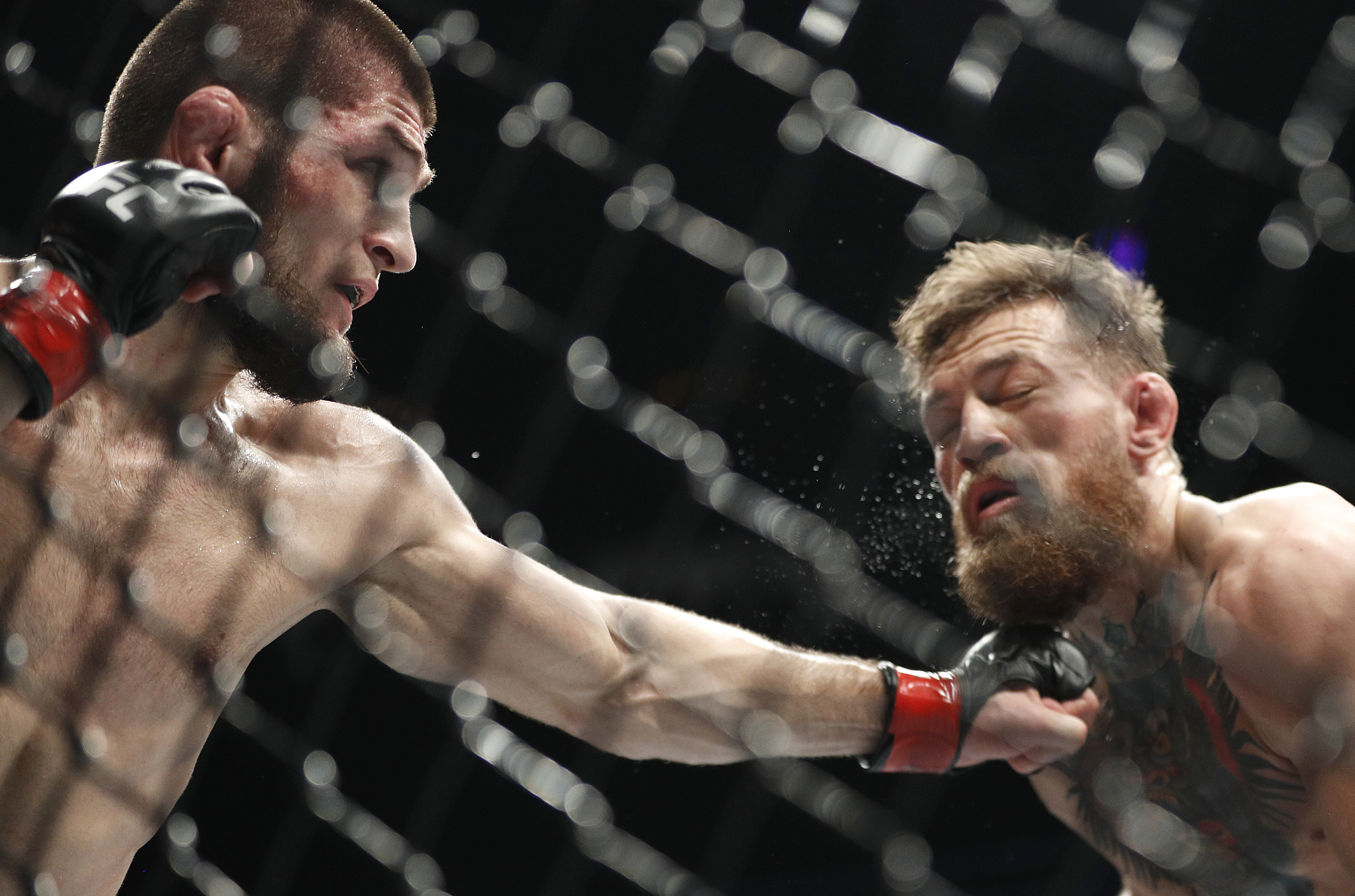 MacGregor suspended for a month from fights for medical reasons