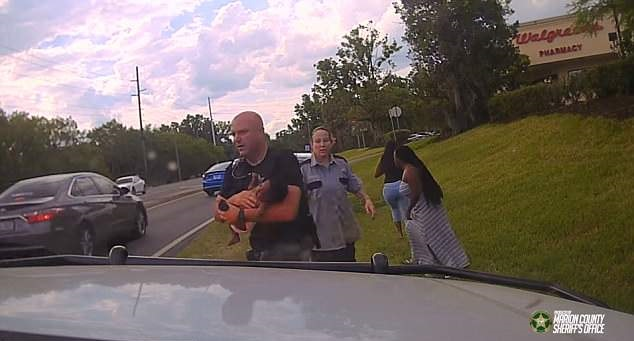 Florida deputy saves 3 month old baby
