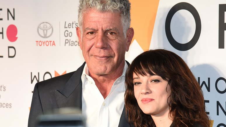 Anthony Bourdain's Girlfriend Asia Argento Breaks Her Silence After Chef's Suicide