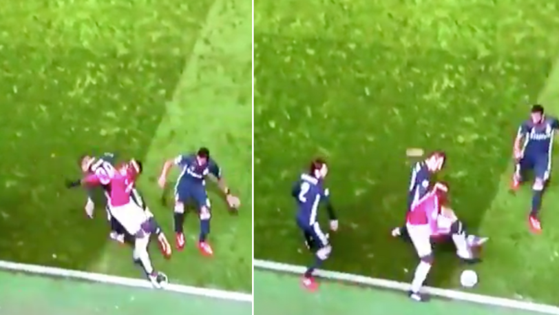 Paul Pogba Sends Two CSKA Players Back To Russia With Ridiculous Skill