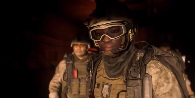 One of the grabs from the Call of Duty trailer. Credit: Activision