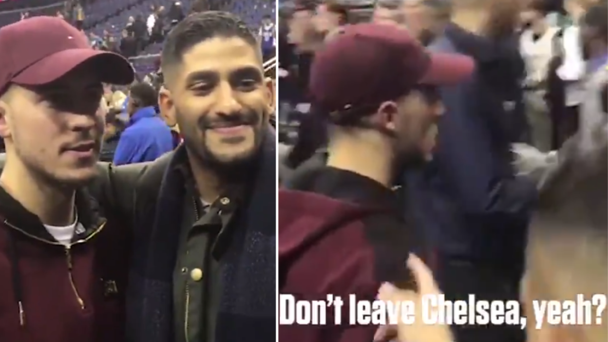 The Moment Eden Hazard Tells A Fan That He Will 'Never' Leave Chelsea