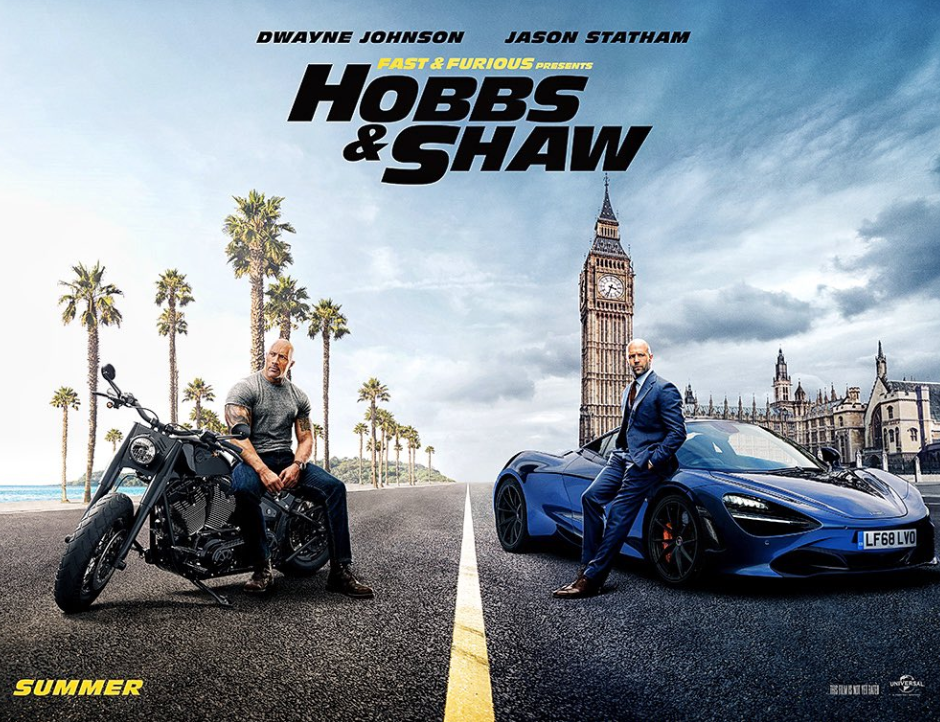 Hobbs & Shaw gets an official trailer