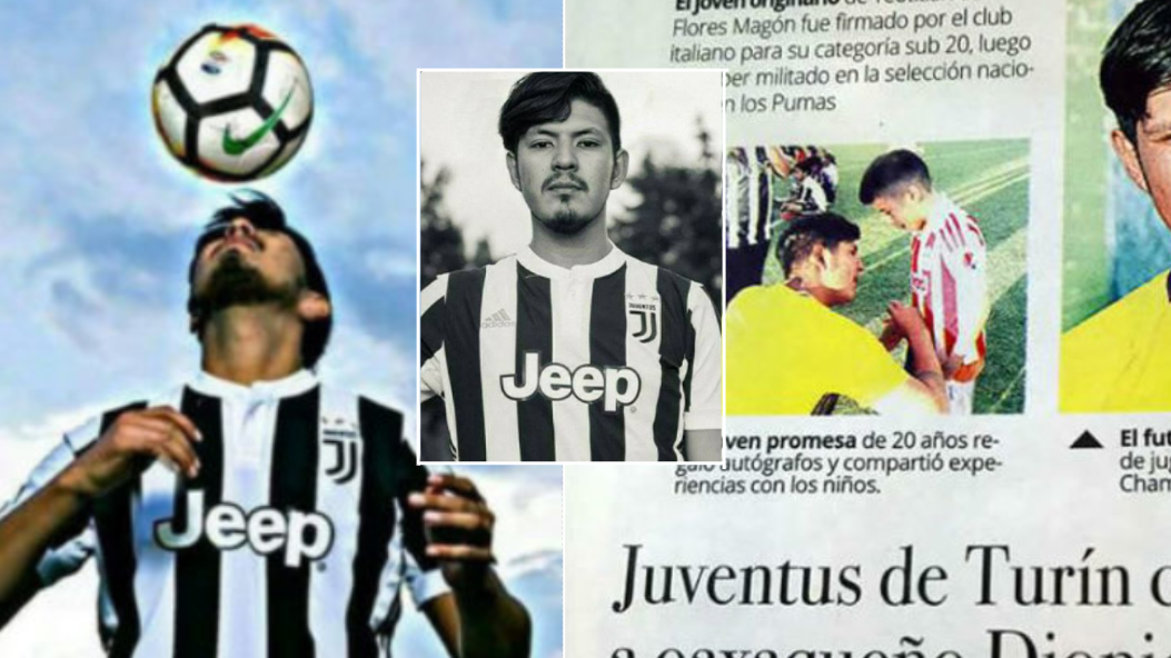 The Fake Mexican Footballer Exposed After Inventing Career As Juventus Player