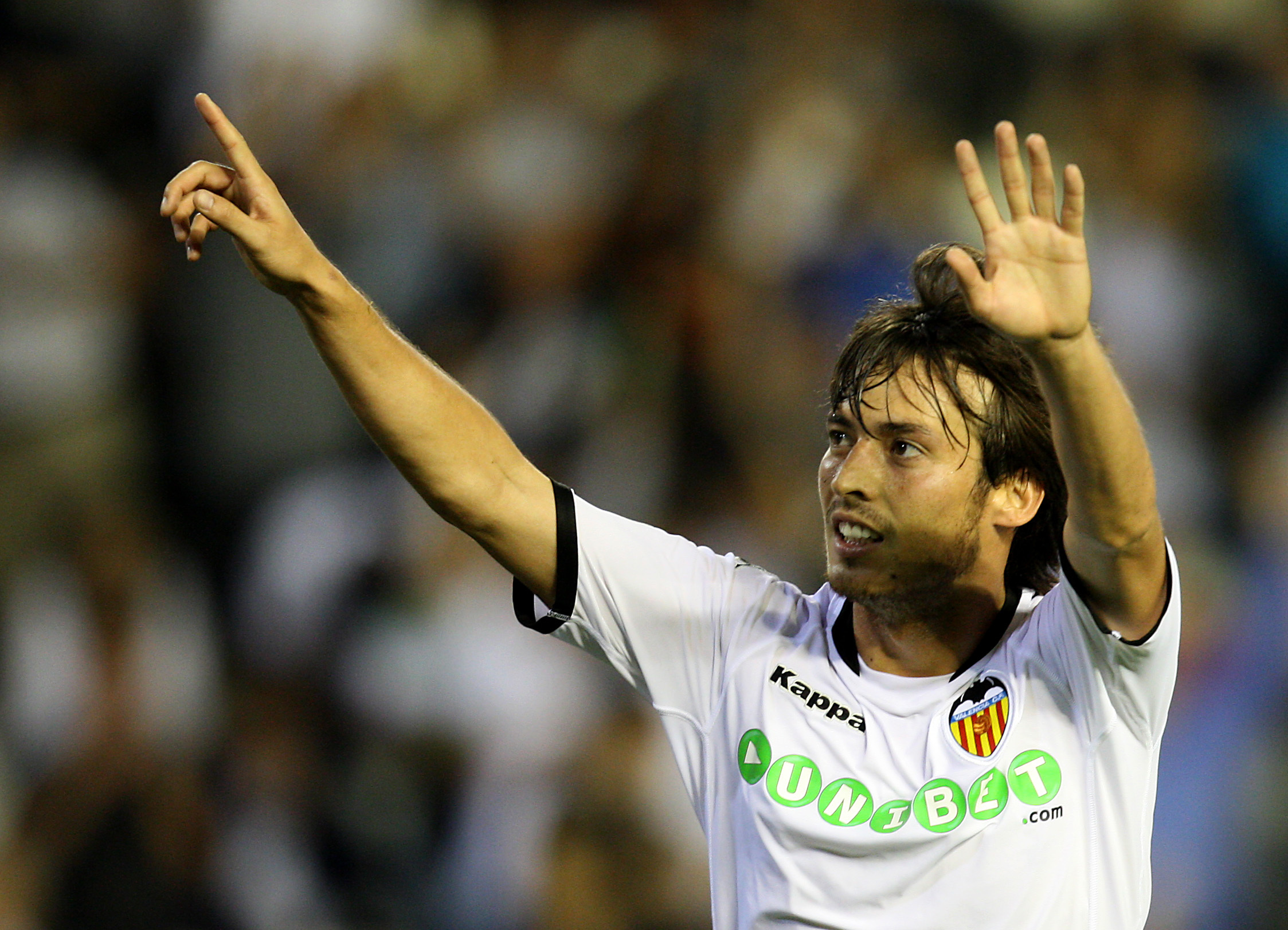 Silva started his career at Valencia before moving to England. Image: PA Images