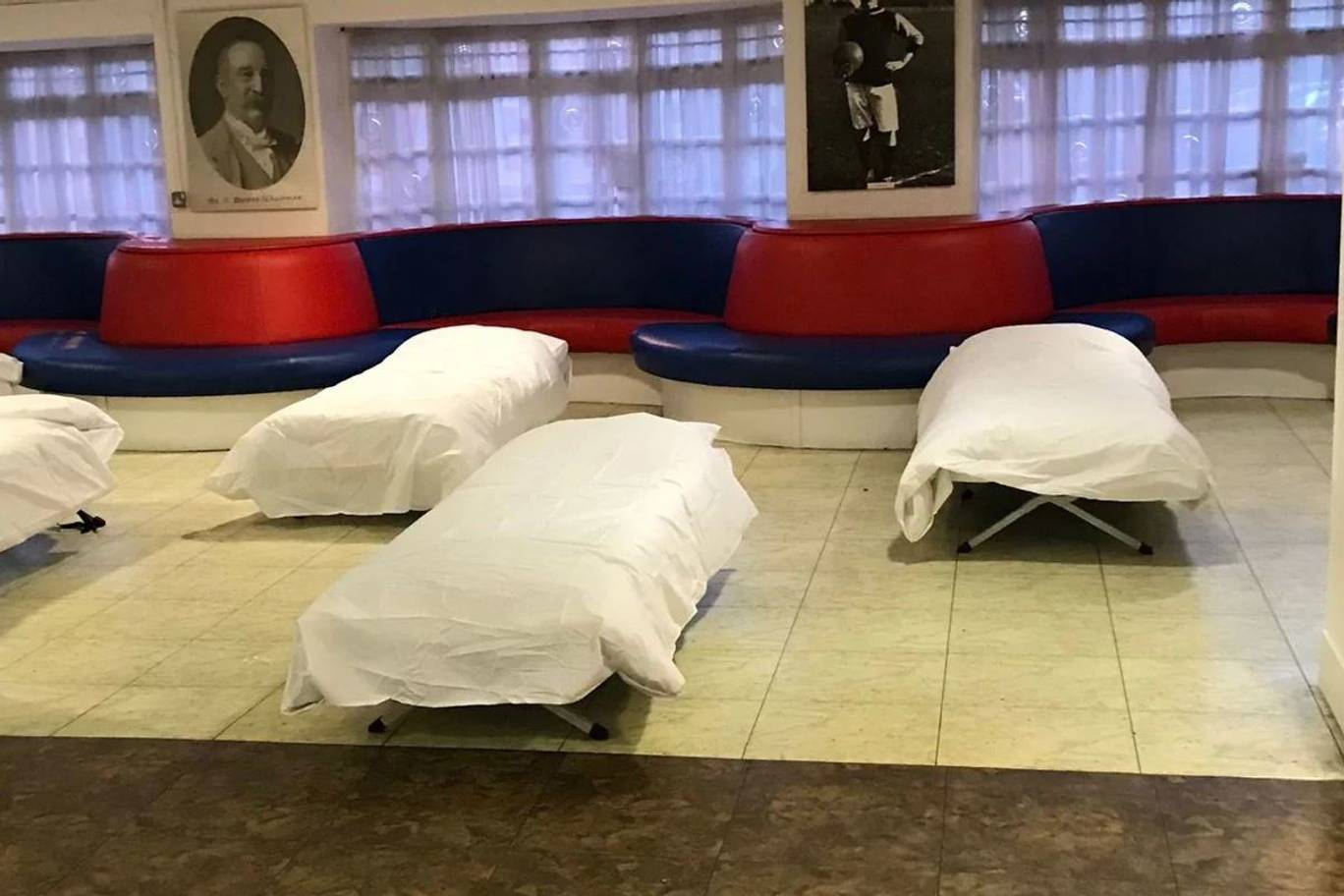 The beds at Selhurst Park. Image: Crystal Palace/Croydon Council