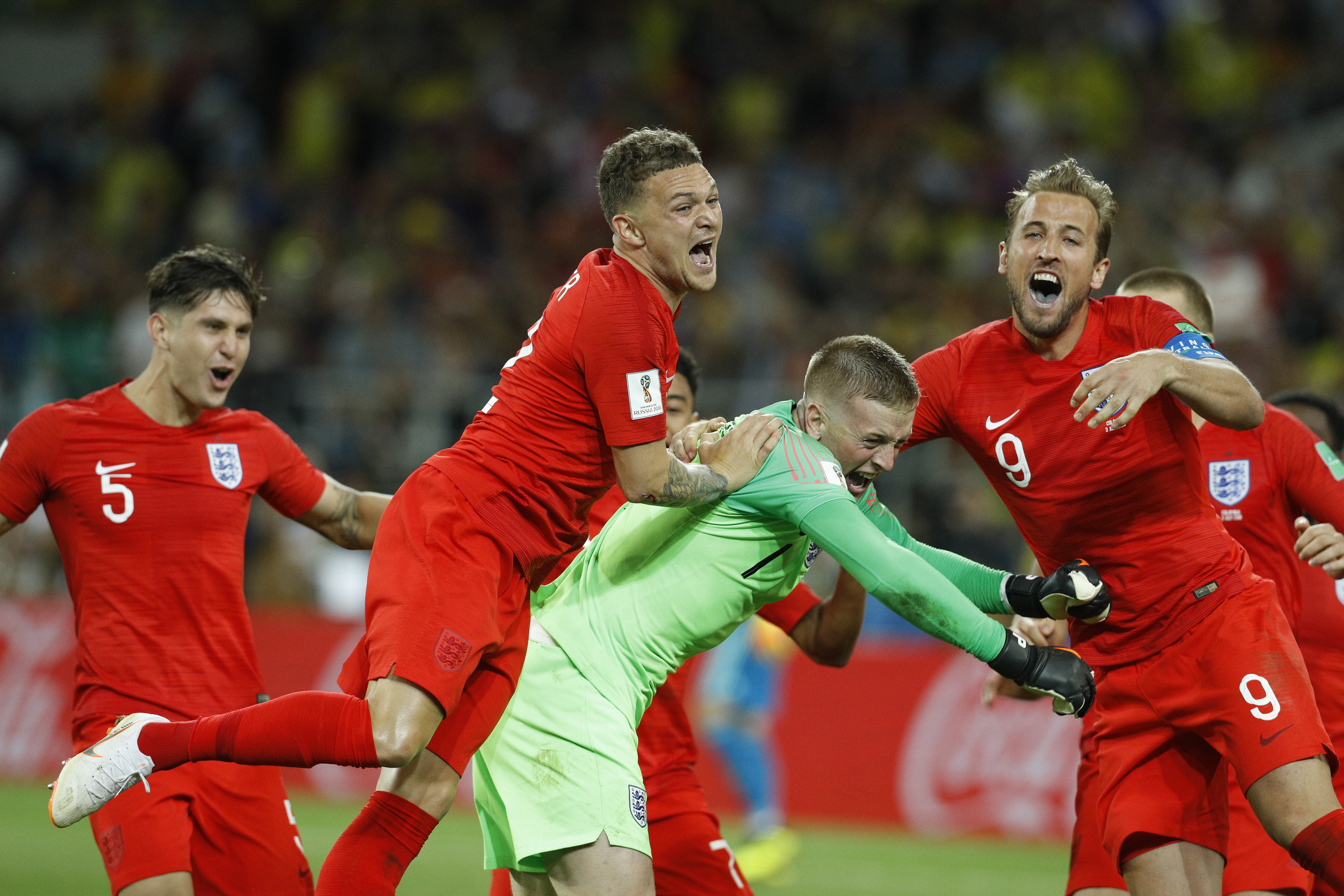 John Stones Reacted Hilariously To Rip The Colombia Players After England Won