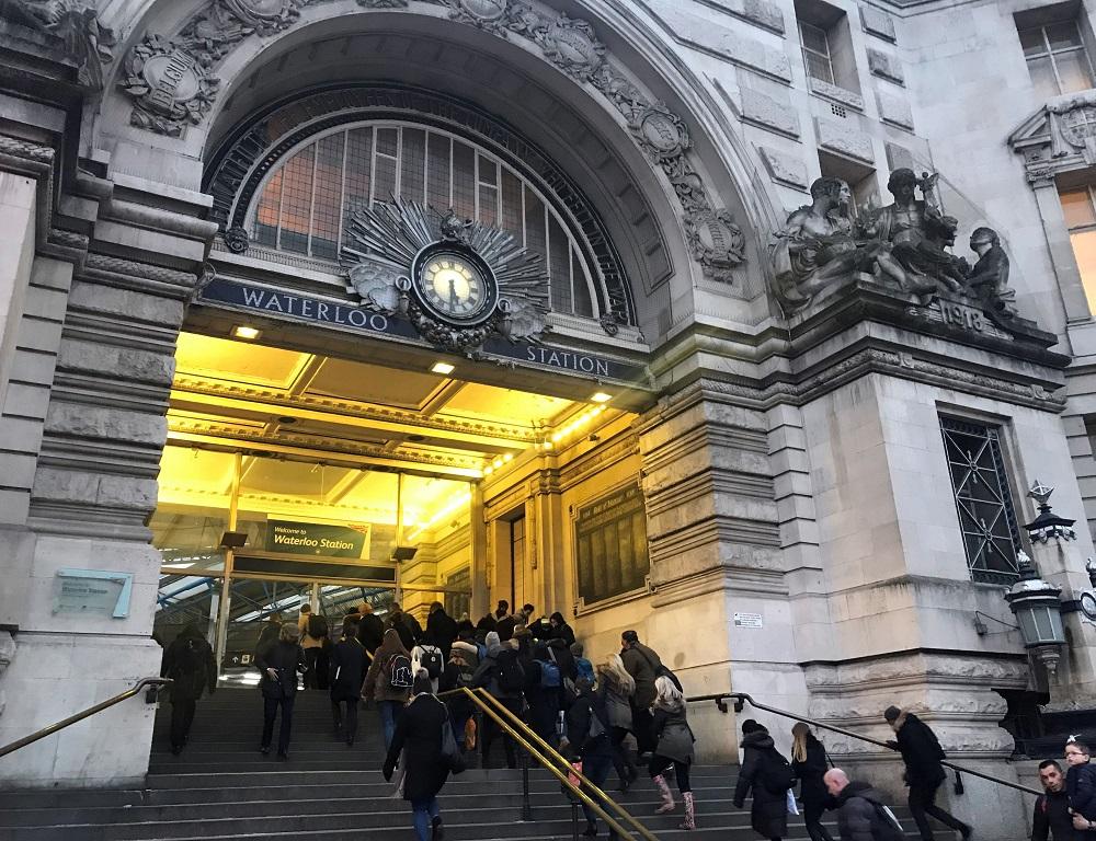 Waterloo Station. Credit: PA