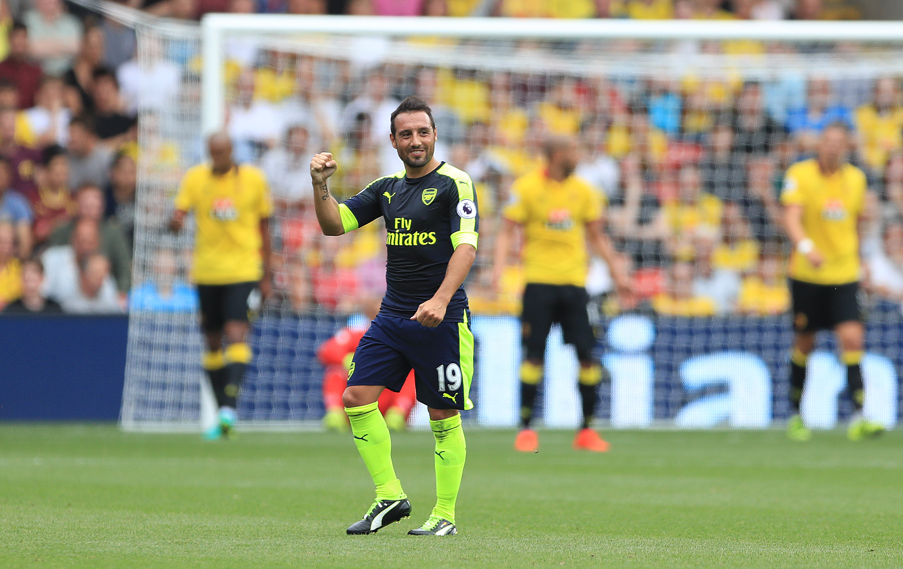 Arsenal Eye Up Potential Replacement For Santi Cazorla TheSPORTbible