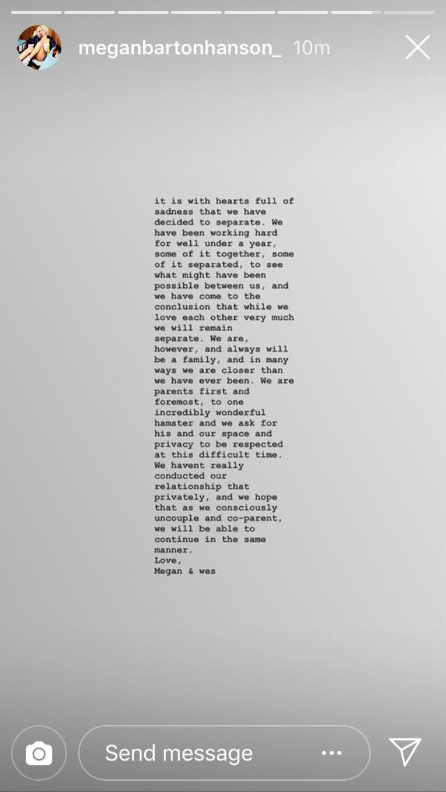Credit: Instagram/Megan Barton Hanson