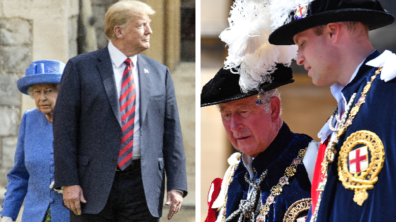 Prince Charles And Prince William 'Refused' To Meet Donald Trump
