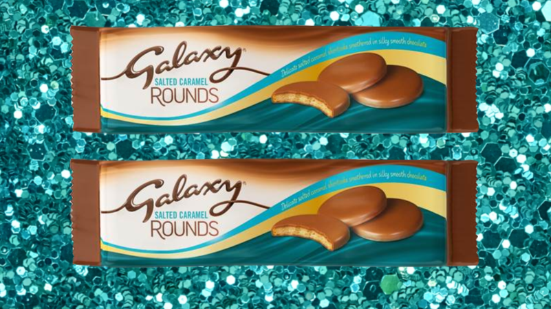 Salted Caramel Galaxy Chocolate Rounds Will Satisfy Your Sweet Tooth