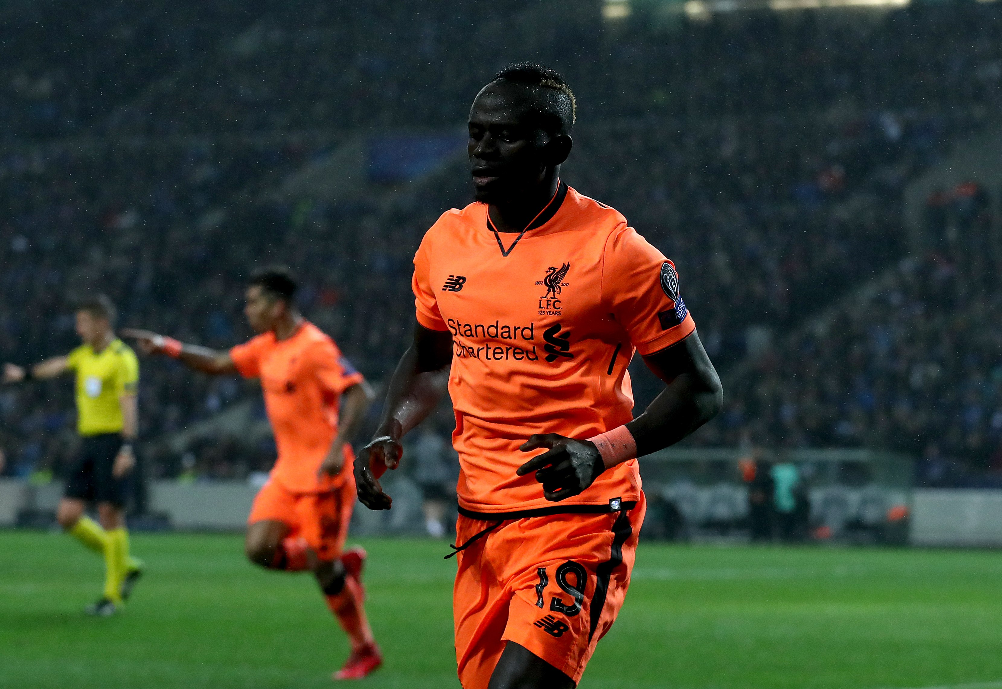 Champions League: Liverpool's Sadio Mane named player of the week
