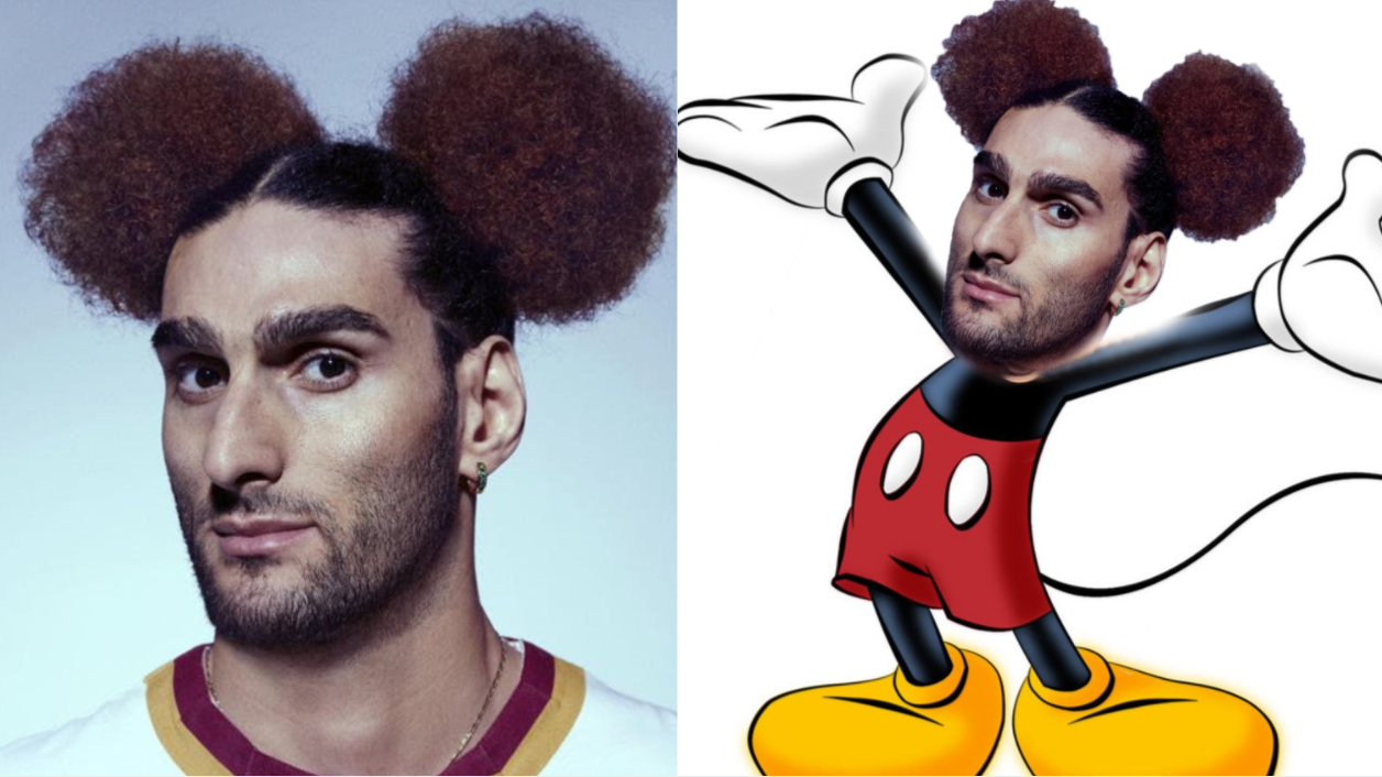 Marouane Fellaini's New 'Mickey Mouse' Hairstyle Has Broken The Internet