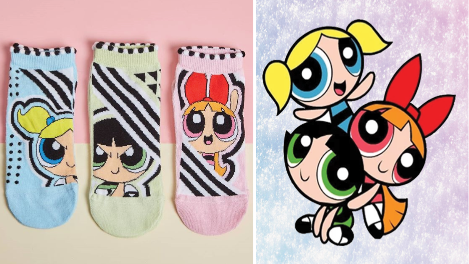 These Powerpuff Girl Socks Are Perfect For Every Fierce Female