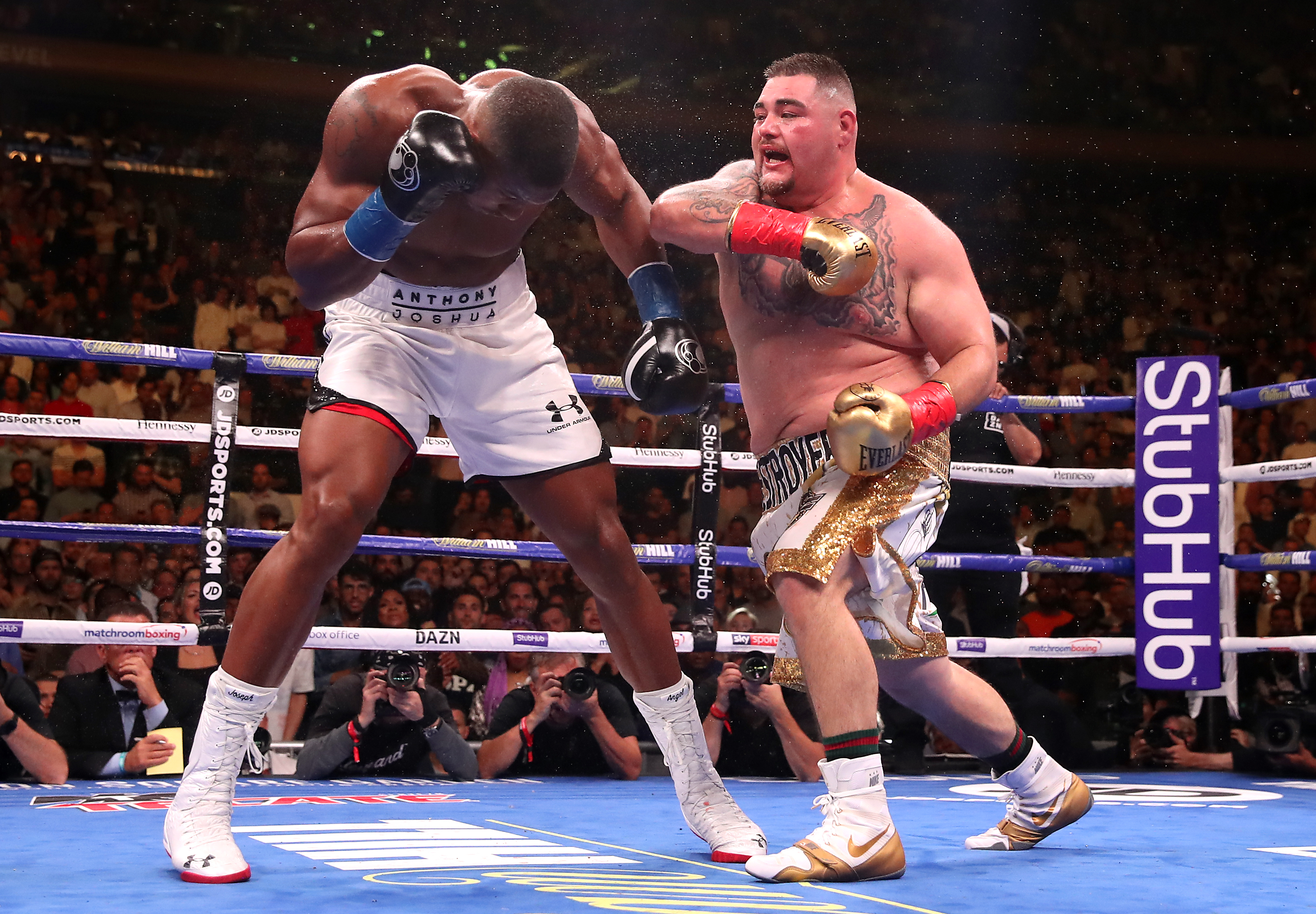Saudi Arabia to stage Joshua v Ruiz world heavyweight fight