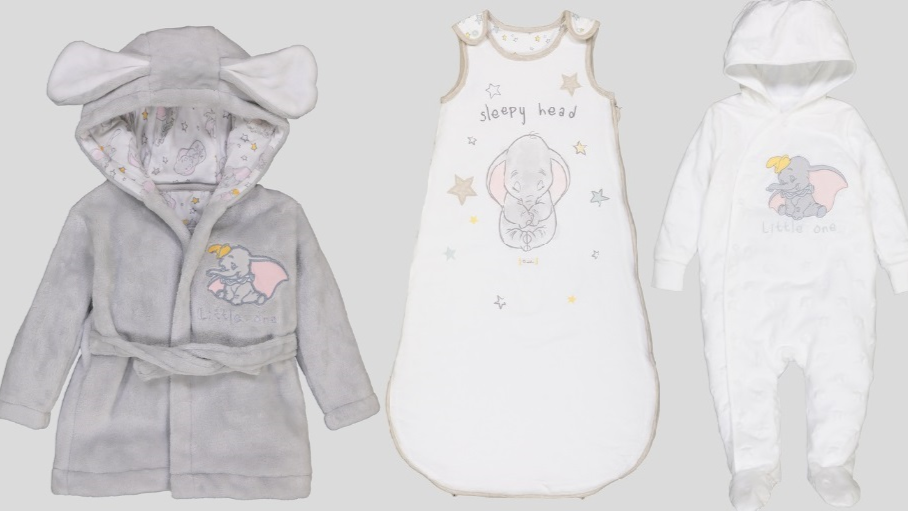Sainsbury's Has Launched An Adorable Dumbo Range For Babies