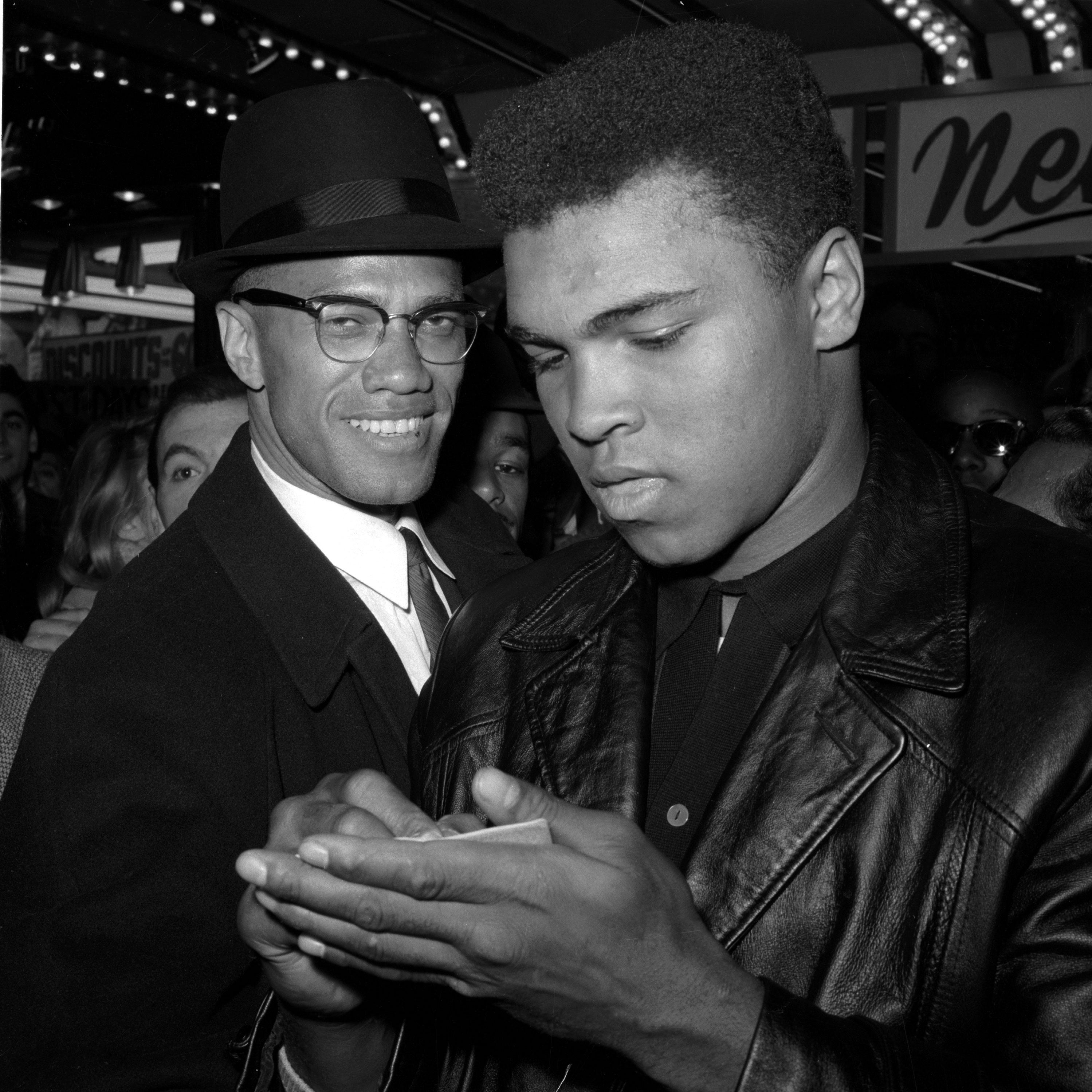 Muhammad Ali Malcolm X