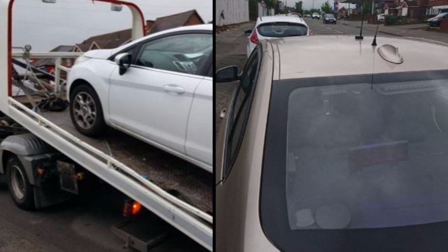 Police Seize Instructor's Car While Learner Does Driving Test