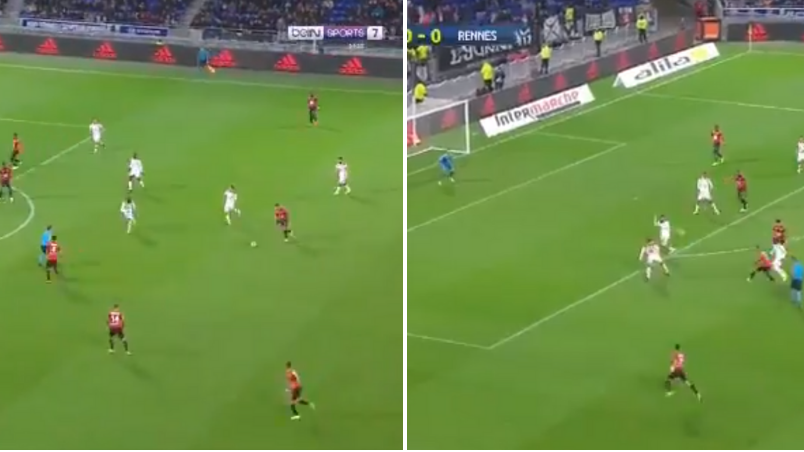Watch: Hatem Ben Arfa Scores Stunning Goal As Rennes Claim 2-0 Win Over Lyon