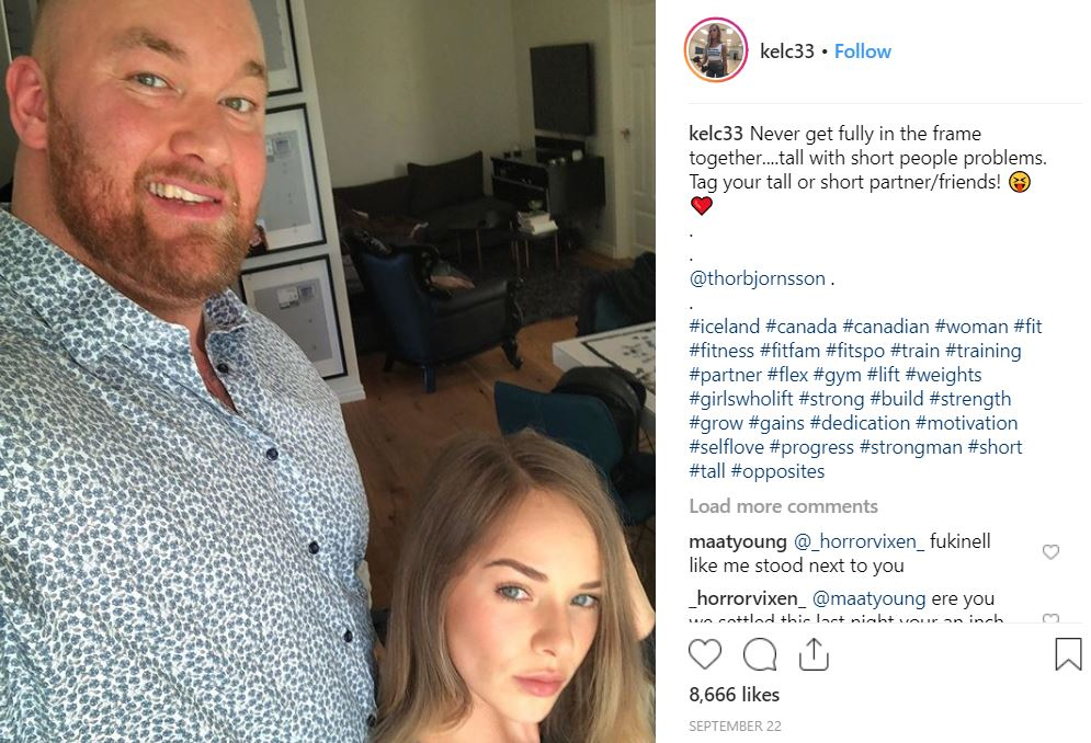 The Mountain' Has Married His Girlfriend In His Native Iceland