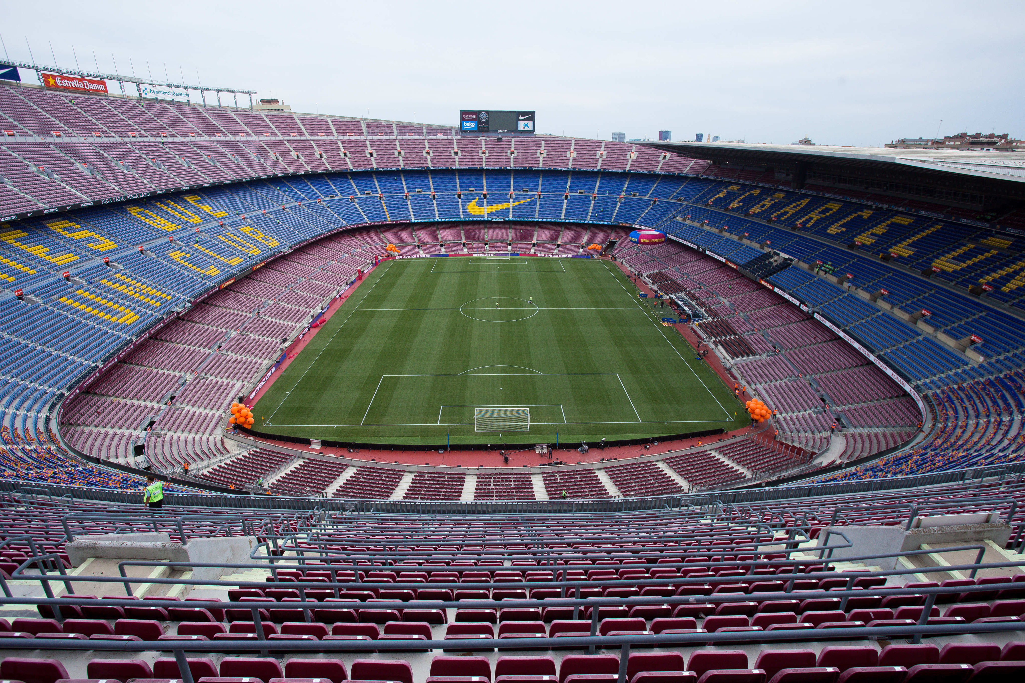 The Camp Nou in all its splendour. Image: PA Images