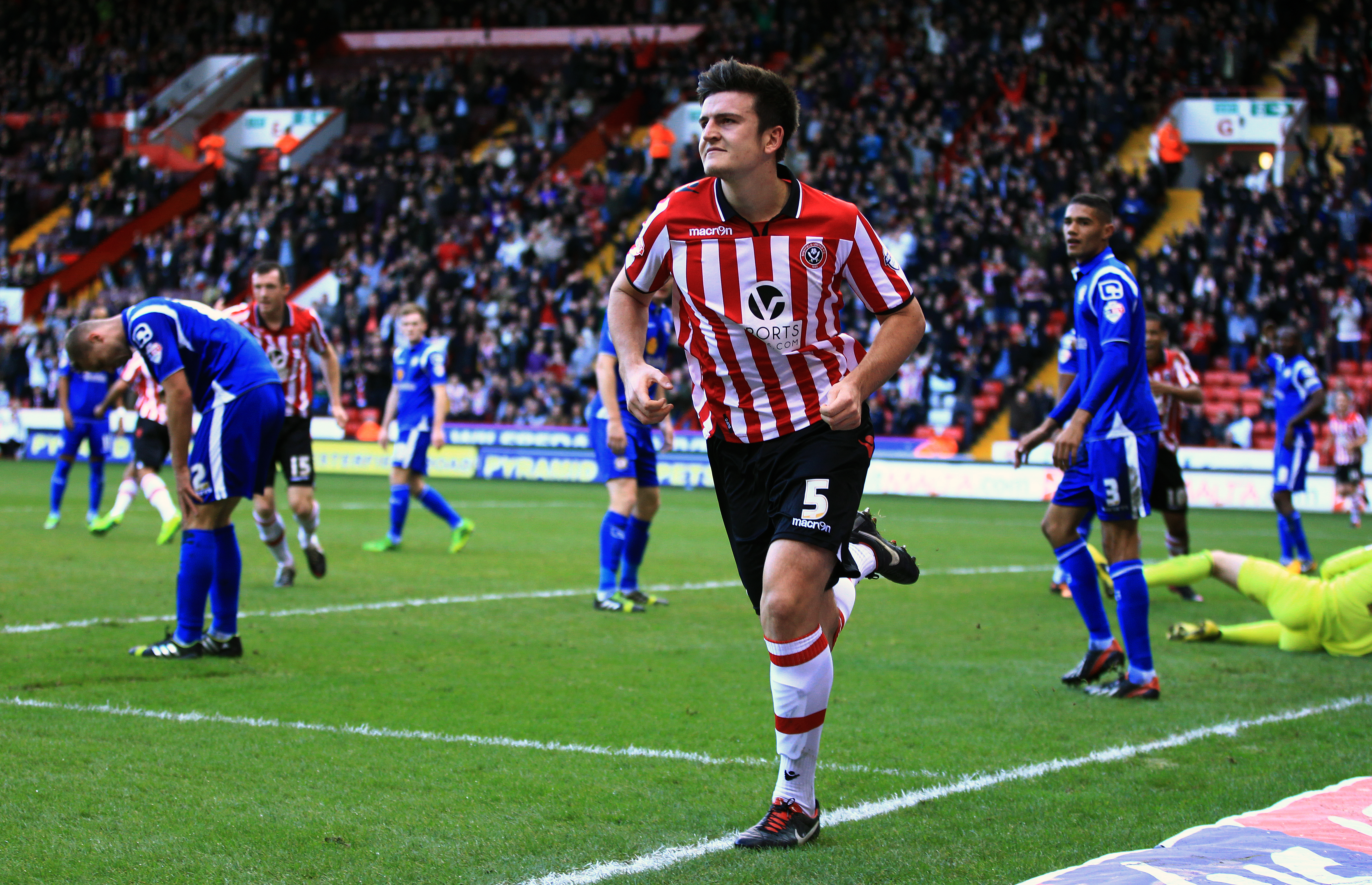 David Moyes revealed Manchester United were concerned about Harry Maguire's size when they scouted him in 2013