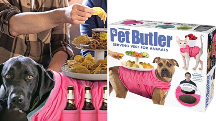 People Are Fuming Over This Fake Pet Butler Animal Vest