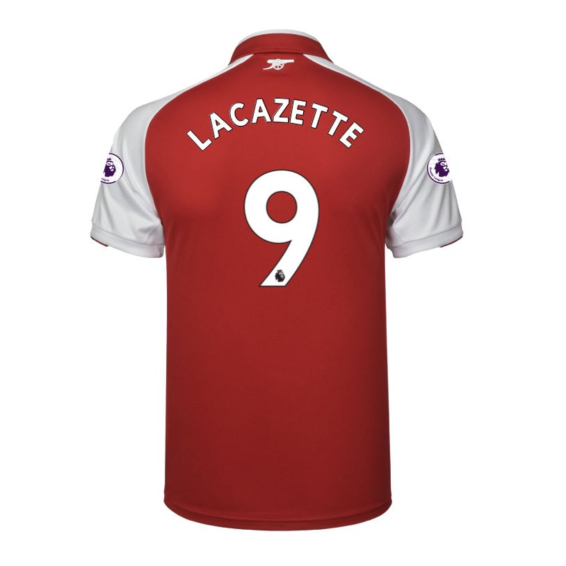 Alexandre Lacazette's Arsenal Squad Number Confirmed By