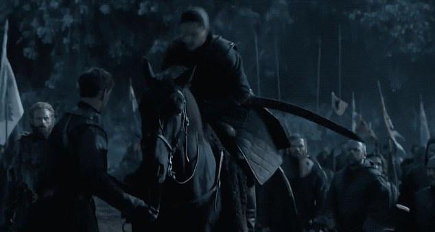 Bendy Valyrian steel. Credit: HBO