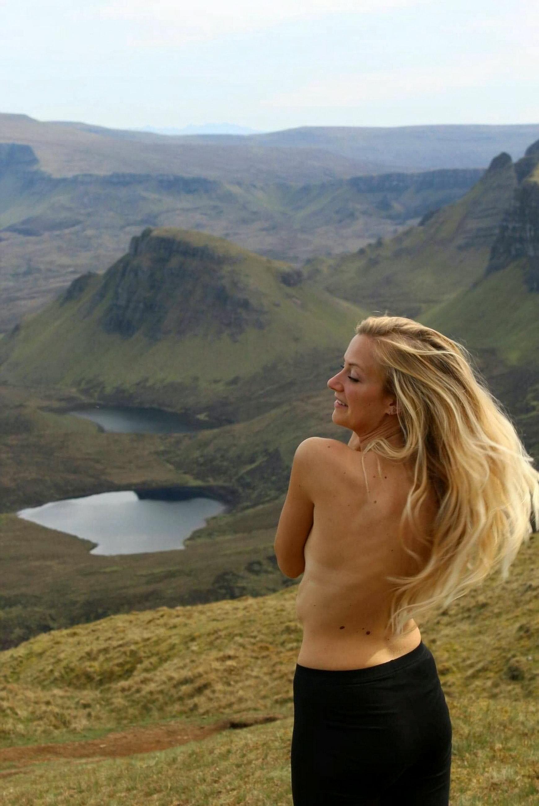Lily lost the camera while visiting the Isle of Skye. Credit: SWNS