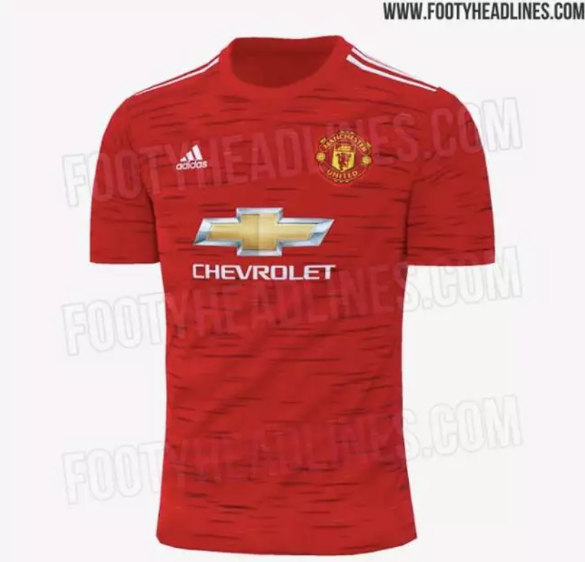 Manchester United S Third Kit For 20 21 Season Could Feature Dazzle Camo Design Sportbible