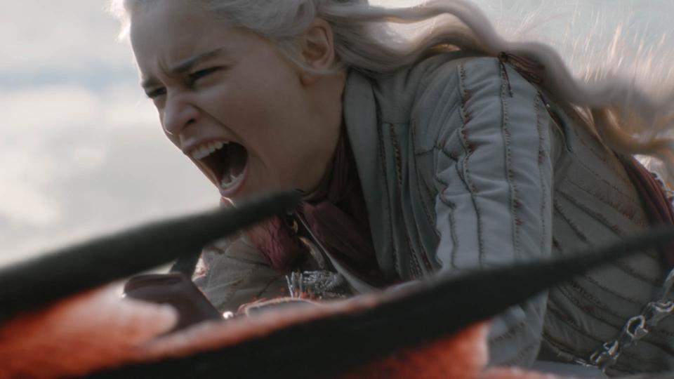 Told ya, she's livid. Credit: HBO