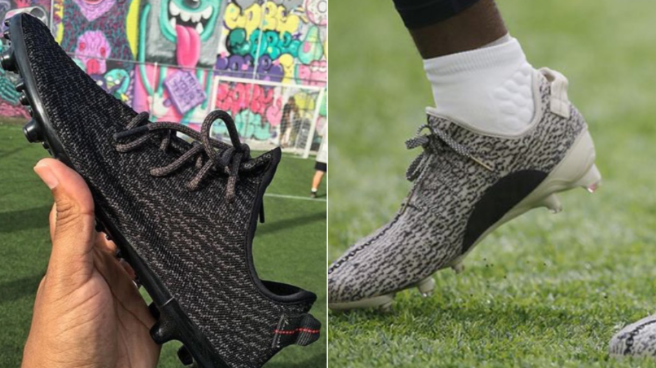 308edc361 Adidas  Yeezy Boost 350  Football Boots Are An Actual Thing - SPORTbible