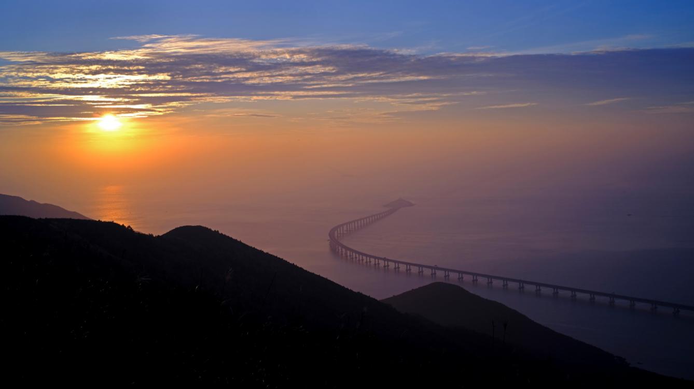 World's Longest Sea-Crossing Bridge Opens This Week Connecting Hong Kong, Zhuhai And Macau Bridge