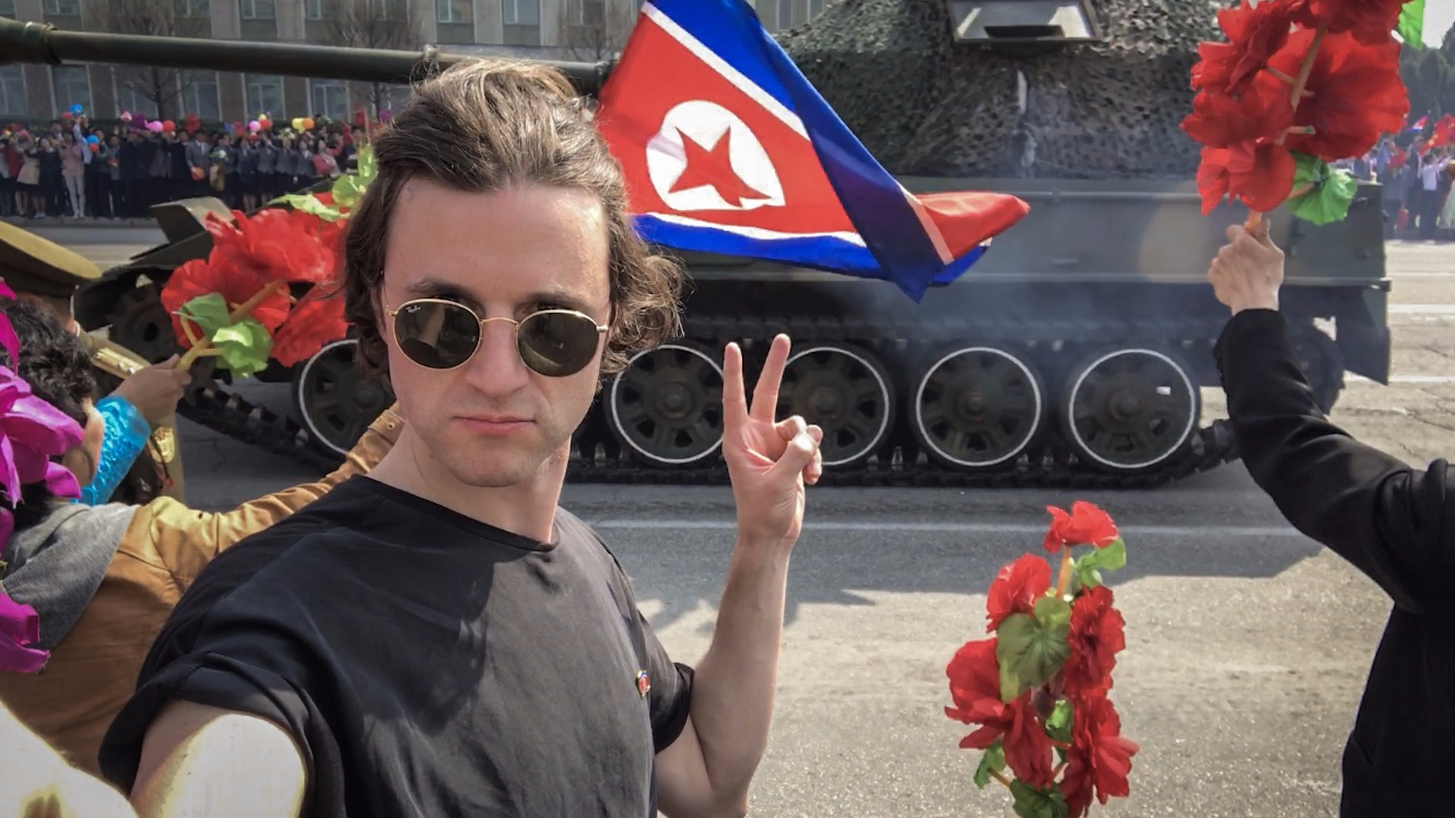 Tourist Flicks Two Fingers Up At North Korean Military In Risky Selfie